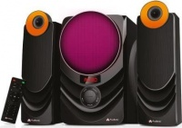 Audionic Rainbow R21 2.1 Channel Hi Fi speakers with FM radio & remote control Photo