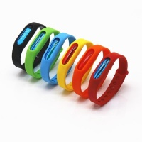 SDP 10 piecesS Anti-mosquito Silicone Repellent Bracelet Buckle Wristband Bugs Away Suitable for Children and Adults Length:23cm Random Color Delivery Photo