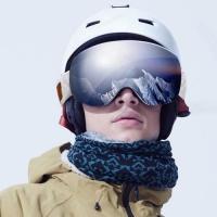 SDP Original Xiaomi TS Adult Anti-fog UV Protection Dual Layers Spherical Ski Goggles with Anti-slip Adjustable Strap Photo