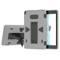 SDP For Amazon Kindle Fire HD 8 PC Silicone Shockproof Protective Back Cover Case With Holder Photo