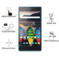SDP 100 piecesS for Lenovo Tab3 730M 0.3mm 9H Surface Hardness Tempered Glass Screen Protector Photo