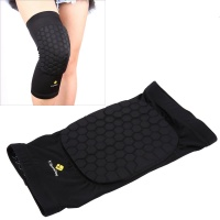 SDP 1 pieces Beehive Shaped Sports Collision-resistant Lycra Elastic Knee Support Guard Short Version Size: L Photo