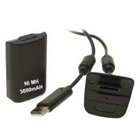 3600mAh Rechargeable Battery Pack & Chargeable Cable For XBOX 360 Photo