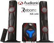 Audionic Reborn RB-108 2.1 Channel Tall Boy Hi Fi speakers with FM radio Photo