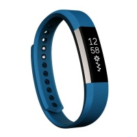 SUNSKYCH For Fitbit Alta Watch Oblique Texture Silicone Watchband Small Size Length: about 18.5cm Photo
