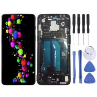 SUNSKYCH LCD Screen and Digitizer Full Assembly with Frame for OnePlus 6 Photo