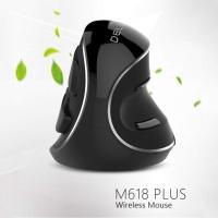 SDP DELUX M618 Plus 2.4G 1600DPI Wireless Portable Vertical Ergonomic Mouse Photo