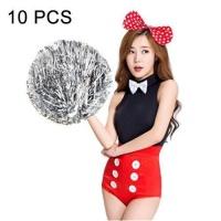 SDP 10 piecesS Square Dance Aerobics Cheerleading Ball Hand Flower Bouquet Ribbon Length: 30cm Photo