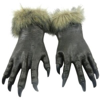 SDP 1 Pair Halloween Decoration Latex Wolf Gloves Halloween Festival Party Fancy Masquerade Glove Props-HC5643 Photo