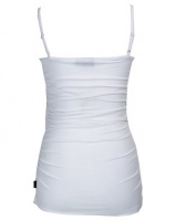 Cherry Melon Cami with Side Detail White Photo