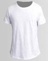 Unruly Longer Tee With Print White Photo