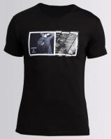 Josalem Photographic Print Slim Fit Tee Black Photo