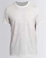 New Look Stripe Crew Neck T-Shirt White Photo