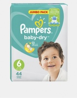 Pampers Active Baby XL Size 6 Jumbo Pack 44 Photo