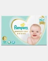 Pampers Premium Care Midi Size 3 Mega Pack 120 Photo