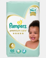 Pampers Premium Care Maxi Size 4 Jumbo Pack 66 Photo