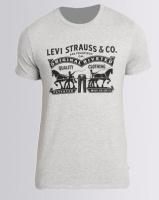 Levi's® Graphic Tee Grey Photo
