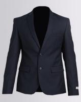 Victor Solero Formal Suit Jacket Slate Photo