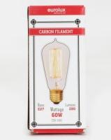 Eurolux Filament Light Bulb Mini Ball Top 19AK Up And Down Clear Photo