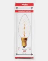 Eurolux Filament Light Bulb Candle Twisted 7AK Clear Photo