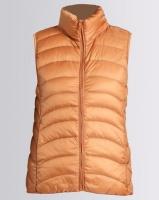 G Couture Sleeveless Jacket Orange Photo