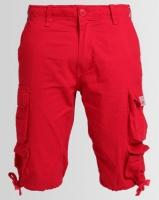 Cutty CMortar Multi Pocket Shorts Red Photo