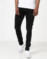 Ringspun Apollo Skinny Ripped Jeans Black Photo