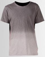 Ringspun Jordell Gradient Washed Slub T-shirt Light Grey Photo