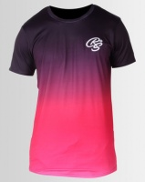 Crosshatch Stanley Sublimation T-shirt Pink Photo