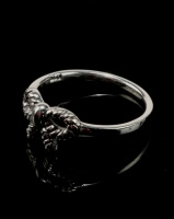 Joy Collectables Bow Ring Sterling Silver Photo