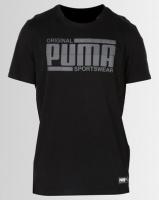 Puma Sportstyle Core Athletics Tee Black Photo