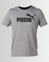 Puma Sportstyle Core Ess Logo Tee Grey Photo