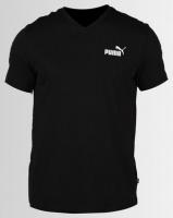 Puma Sportstyle Core Essential V-Neck Tee Black Photo