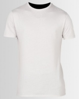 New Look Short Sleeve Muscle Fit T-Shirt Pale Grey Photo