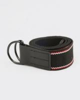 New Look Entry Woven D Ring Belt Black Photo