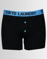 Tokyo Laundry 2pk Maldon Black Bodyshort Red/Blue Photo