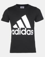 adidas Originals Boys Logo Tee Black Photo