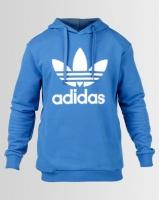 adidas Originals Mens Over The Head Sweat Blue/White Photo