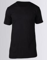 Fittees Clothing Long Line Tee Black Photo