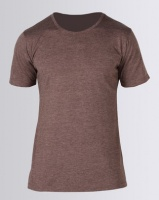 Fittees Clothing Fitted UL Poly Cotton Tee Cream Mocha Photo