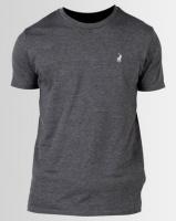 Polo Crew Neck T-Shirt Charcoal Photo