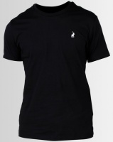 Polo Crew Neck T-Shirt Black Photo
