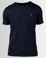 Polo Crew Neck T-Shirt Navy Photo