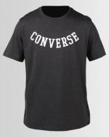 Converse Reverse Athletic Arch Tee Black Heather Photo