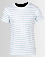 Soul Star MT Troy Turquoise Striped T-Shirt Photo