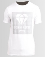 Born Rich Domenico T-Shirt White Photo