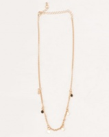 All Heart Fashion Layered Necklace Gold Toned Photo