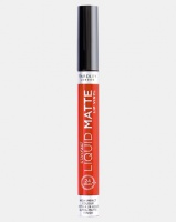 Yardley Stayfast Liquid Matte Lip Gloss Electric Tangerine Photo