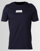 Hurley Cre Ripples T-Shirt Obsidian Photo