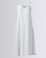 Lila Rose Long Voille Chemise Grey Photo